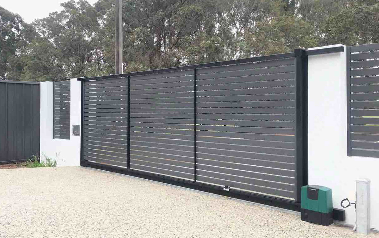 Automatic Sliding Gate Perth- Automatic Aluminum Gates & More